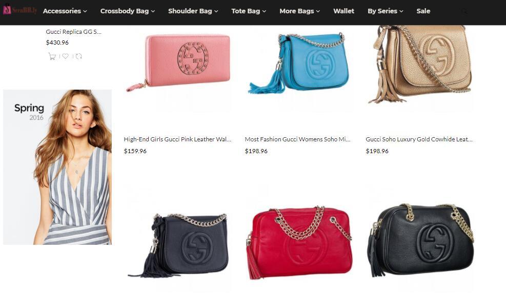 replica Gucci soho bags sale price
