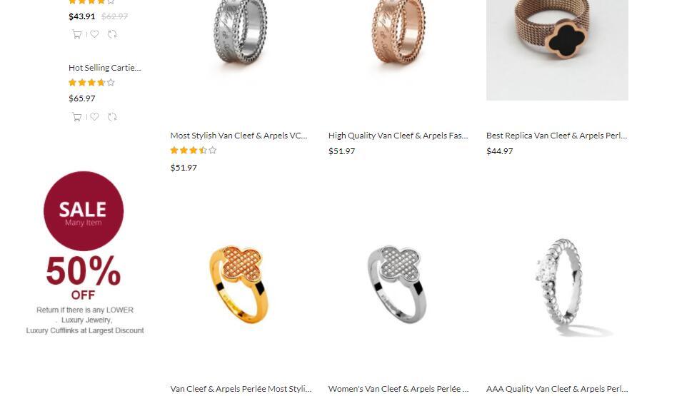 replica vca jewelry sale